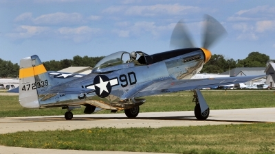 Photo ID 154622 by David F. Brown. Private Private North American P 51D Mustang, NL51JC