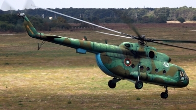 Photo ID 154624 by Alexander Mladenov. Bulgaria Air Force Mil Mi 17, 421