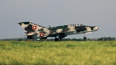 Photo ID 156475 by Alexander Mladenov. Bulgaria Air Force Mikoyan Gurevich MiG 21UM, 14