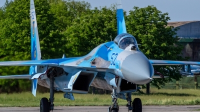 Photo ID 154688 by Antoha. Ukraine Air Force Sukhoi Su 27S, 52 BLUE
