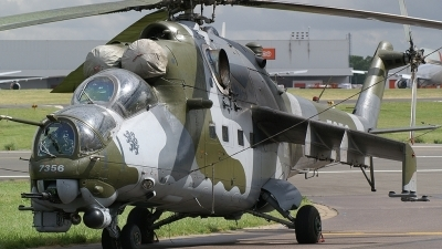 Photo ID 2011 by frank van de waardenburg. Czech Republic Air Force Mil Mi 35, 7356