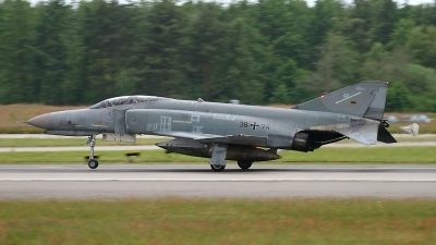 Photo ID 154713 by Maurice Kockro. Germany Air Force McDonnell Douglas F 4F Phantom II, 38 74