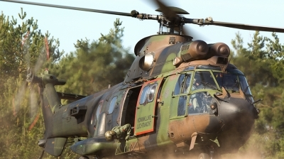 Photo ID 154901 by Devid Ryckewaert. Netherlands Air Force Aerospatiale AS 532U2 Cougar MkII, S 459