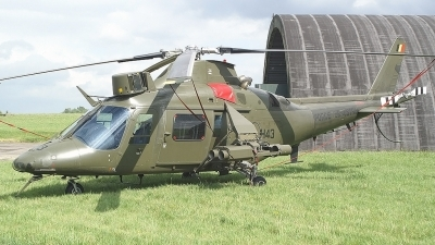 Photo ID 2012 by frank van de waardenburg. Belgium Air Force Agusta A 109HO A 109BA, H43