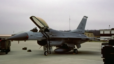Photo ID 154905 by D. A. Geerts. USA Air Force General Dynamics F 16C Fighting Falcon, 83 1145