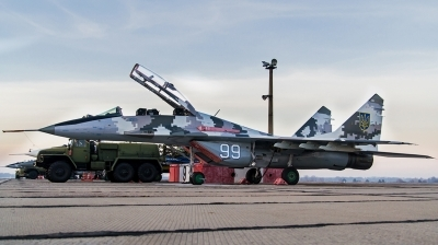 Photo ID 154966 by Antoha. Ukraine Air Force Mikoyan Gurevich MiG 29UB 9 51, 99 WHITE