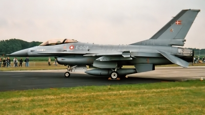 Photo ID 155109 by Johannes Berger. Denmark Air Force General Dynamics F 16AM Fighting Falcon, E 008