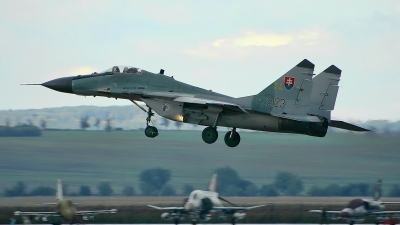 Photo ID 158179 by Radim Spalek. Slovakia Air Force Mikoyan Gurevich MiG 29AS, 2123