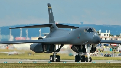 Photo ID 155490 by Radim Spalek. USA Air Force Rockwell B 1B Lancer, 86 0121