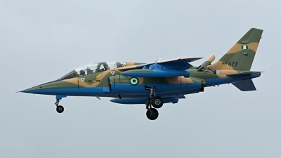 Photo ID 155418 by Mike Hopwood. Nigeria Air Force Dassault Dornier Alpha Jet A, NAF477