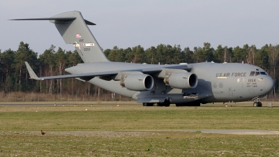 Photo ID 155494 by Günther Feniuk. USA Air Force Boeing C 17A Globemaster III, 06 6154