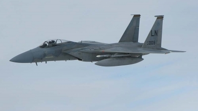 Photo ID 2020 by Paul Tiller. USA Air Force McDonnell Douglas F 15C Eagle, 84 0009