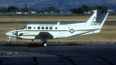 Photo ID 155552 by Rainer Mueller. USA Navy Beech UC 12B Huron Super King Air B200, 161326