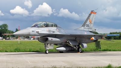 Photo ID 155501 by Johannes Berger. Netherlands Air Force General Dynamics F 16BM Fighting Falcon, J 066