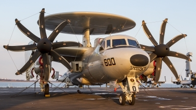 Photo ID 155596 by Martin Reynolds. USA Navy Grumman E 2D Advanced Hawkeye, 168592