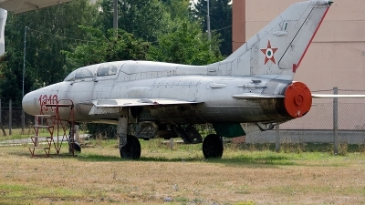 Photo ID 155656 by Jan Eenling. Hungary Air Force Mikoyan Gurevich MiG 21U 400, 1319