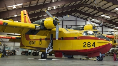 Photo ID 155724 by Thomas Ziegler - Aviation-Media. USA Department of State Canadair CL 215 1A10, N264V