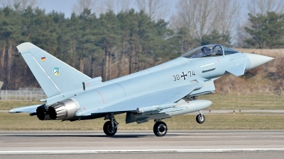 Photo ID 155833 by Lieuwe Hofstra. Germany Air Force Eurofighter EF 2000 Typhoon S, 30 74