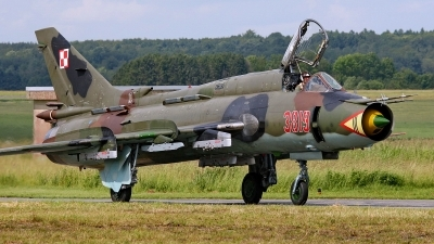 Photo ID 155888 by Mario Boeren. Poland Air Force Sukhoi Su 22M4 Fitter K, 3819