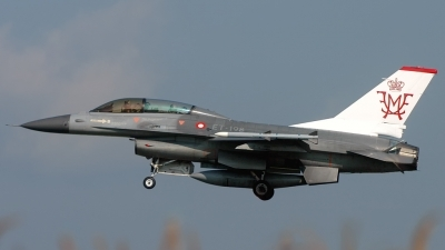 Photo ID 155905 by Sven Zimmermann. Denmark Air Force General Dynamics F 16BM Fighting Falcon, ET 198