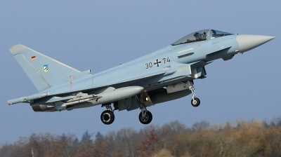 Photo ID 155927 by Sascha. Germany Air Force Eurofighter EF 2000 Typhoon S, 30 74