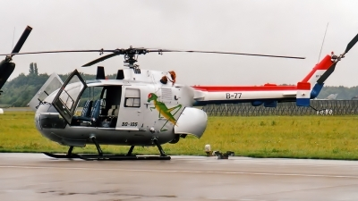 Photo ID 159227 by Johannes Berger. Netherlands Air Force MBB Bo 105CB 4, B 77