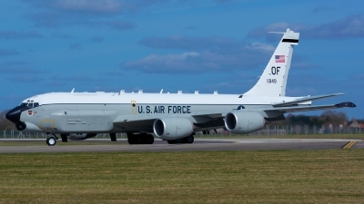 Photo ID 156017 by Ashley Wallace. USA Air Force Boeing RC 135U Combat Sent 739 445B, 64 14849