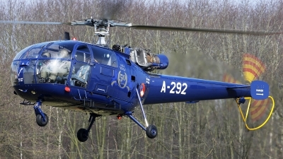 Photo ID 156221 by Mark Broekhans. Netherlands Air Force Aerospatiale SA 316B Alouette III, A 292