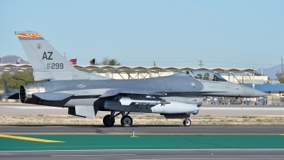 Photo ID 156342 by Lieuwe Hofstra. USA Air Force General Dynamics F 16C Fighting Falcon, 87 0299