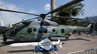 Photo ID 156744 by Lukas Kinneswenger. Brazil Air Force Eurocopter H 36 EC 725AP Caracal, 8511