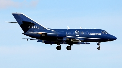 Photo ID 156715 by Carl Brent. Company Owned Cobham Aviation Dassault Falcon Mystere 20C, G FRAU