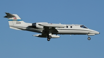 Photo ID 156828 by Rainer Mueller. USA Air Force Learjet C 21A, 84 0126