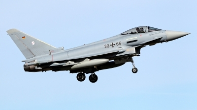 Photo ID 156830 by Carl Brent. Germany Air Force Eurofighter EF 2000 Typhoon S, 30 65