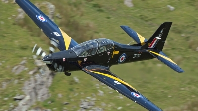 Photo ID 156892 by Ron Kellenaers. UK Air Force Short Tucano T1, ZF317