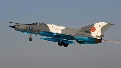 Photo ID 156904 by Alexandru Chirila. Romania Air Force Mikoyan Gurevich MiG 21MF 75 Lancer C, 6196