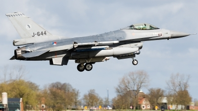 Photo ID 156977 by Alex van Noye. Netherlands Air Force General Dynamics F 16AM Fighting Falcon, J 644