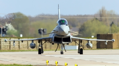 Photo ID 157663 by Craig Wise. UK Air Force Eurofighter Typhoon T3, ZJ803