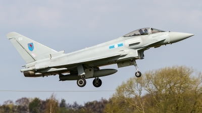 Photo ID 157668 by Craig Wise. UK Air Force Eurofighter Typhoon FGR4, ZK321
