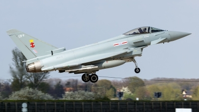 Photo ID 157808 by Craig Wise. UK Air Force Eurofighter Typhoon FGR4, ZK315