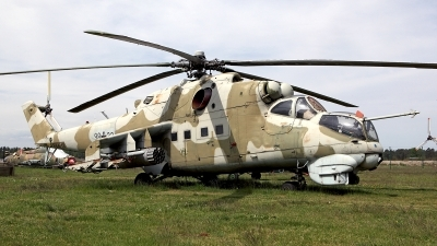 Photo ID 157870 by Carl Brent. Germany Air Force Mil Mi 24D, 98 32