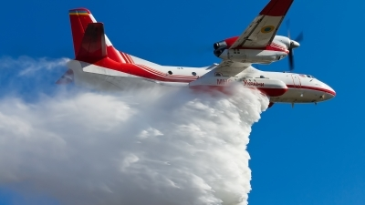 Photo ID 157915 by Igor Bubin. Ukraine Ministry of Emergency Situations Antonov An 32P Firekiller, 34 BLACK