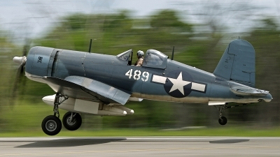Photo ID 157972 by David F. Brown. Private Private Goodyear FG 1D Corsair, NX209TW