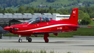Photo ID 158015 by Thomas Ziegler - Aviation-Media. Switzerland Air Force Pilatus PC 21, A 106