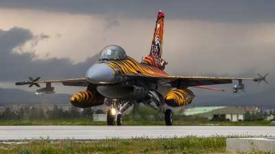 Photo ID 158045 by Alfred Koning. Turkey Air Force General Dynamics F 16C Fighting Falcon, 92 0014