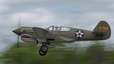Photo ID 158140 by David F. Brown. Private Liberty Foundation Curtiss P 40E Warhawk, N2416X