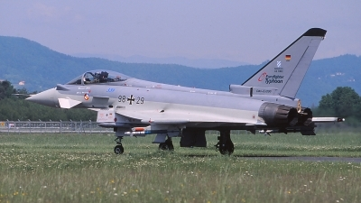 Photo ID 158103 by Chris Hauser. Germany Air Force Eurofighter EF 2000 Typhoon S, 98 29