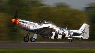 Photo ID 158192 by David F. Brown. Private Mustang Pilots LLC North American P 51D Mustang, N51KB