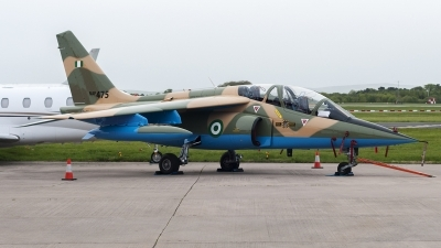 Photo ID 158436 by Paul Massey. Nigeria Air Force Dassault Dornier Alpha Jet A, NAF475