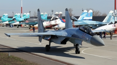 Photo ID 158506 by Sergey Chaikovsky. Russia Air Force Sukhoi Su 35S,