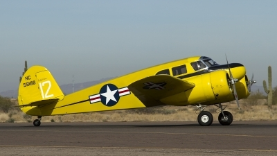 Photo ID 158576 by Thomas Ziegler - Aviation-Media. Private Commemorative Air Force Cessna T 50 Bobcat, NC59188